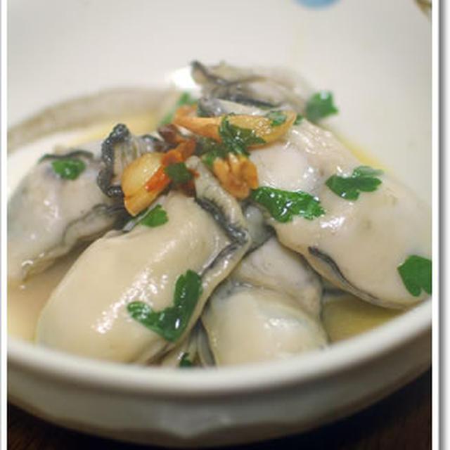 ぷりっぷりな牡蠣のアーリオオーリオ
