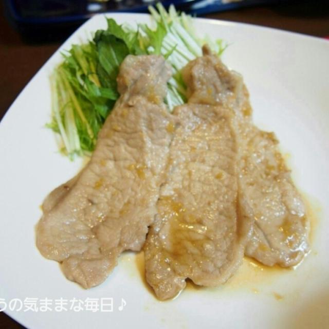 豚の生姜焼きと今日のお弁当☆つくレポありがとう☆
