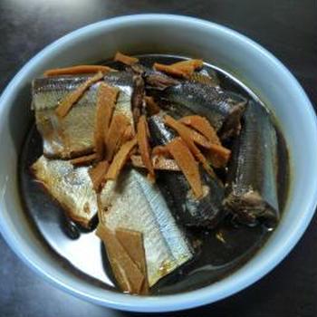 骨まで食べられるサンマの甘露煮