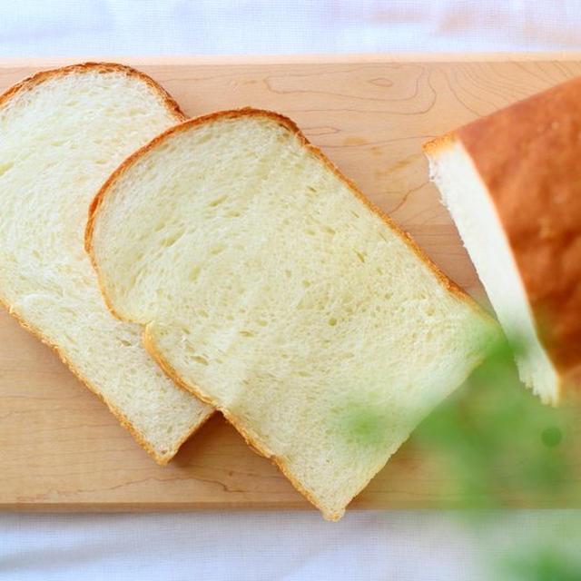 今日のパン『山型パン』