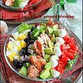自家製リュスティック** Cobb Salad/w yorgurt dressing by hannoahさん
