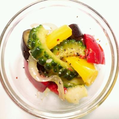 ゴーヤ パプリカ 茄子 香味野菜 ミックスペパー