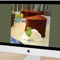 【手作りケーキのレシピ】ココアシフォンケーキ