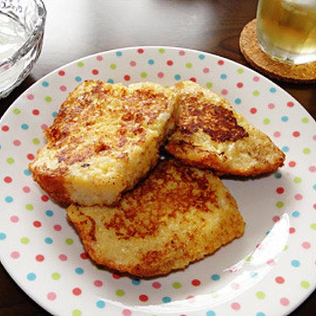 GOPANの失敗お米パンでフレンチトースト