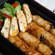 1月11日  厚揚げの豚肉巻き焼き弁当