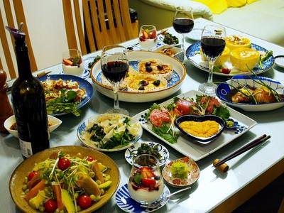 続【バレンタインディナーラストショーは料理の全貌編 各レシピ付き】家