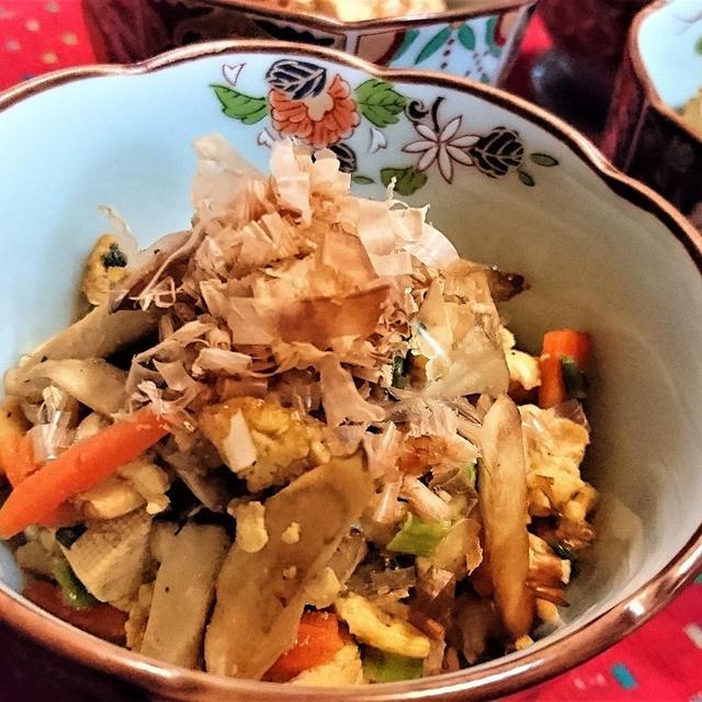 【レシピ】安い★旨い★簡単【豆腐とエリンギのチャンプルー】