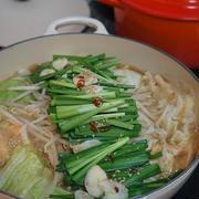 博多風、醤油もつ鍋