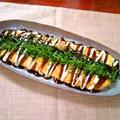 """山の芋チーズの玉子巻き ~ 変わりとん平焼き """"関西の鉄板焼き屋さん味"""""""