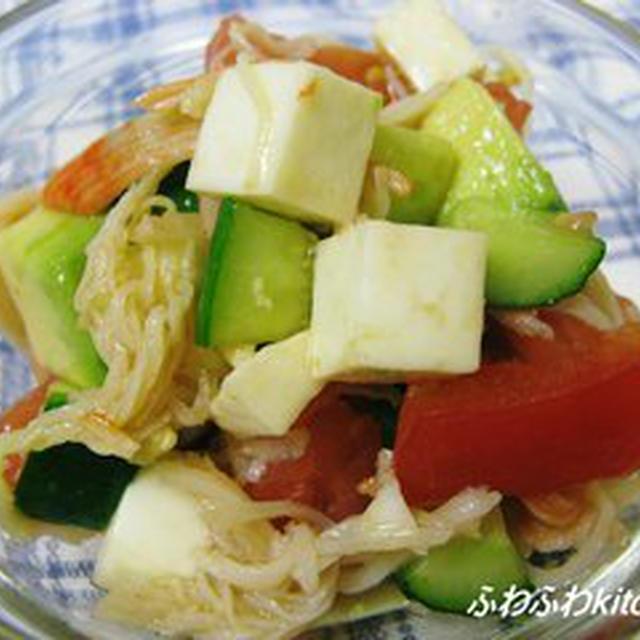 【モッツァレラレシピコンテスト】サイコロサラダわさび風味
