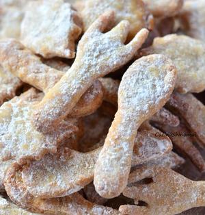 オリーブオイルとバナナのガリごりクッキー