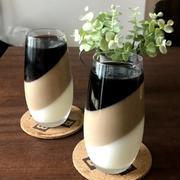【材料4つ!簡単おやつ】3層のコーヒー牛乳プリン