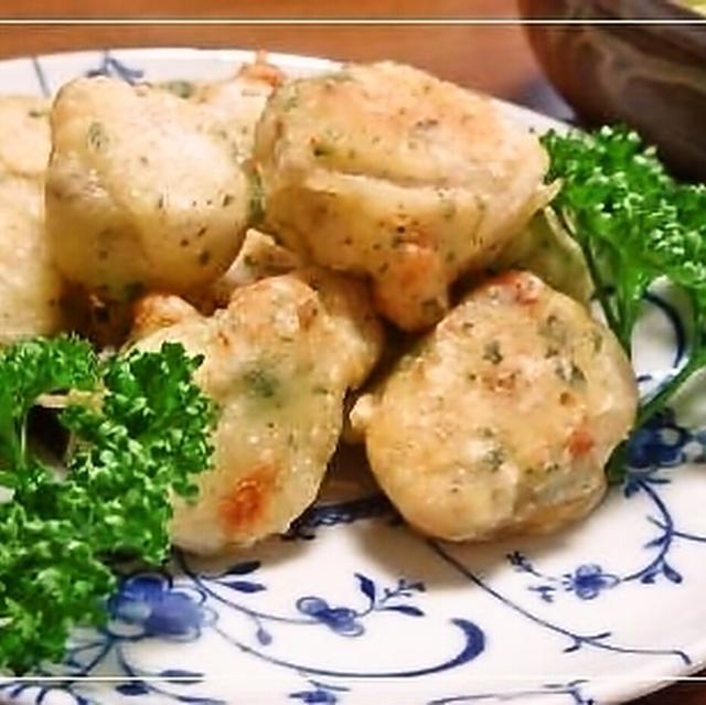 里芋のチーズフリッター