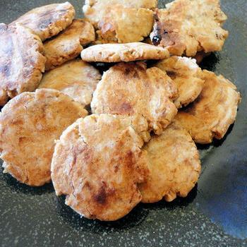 レンジで簡単★キチントさんクッキーマジック★きなこクッキー