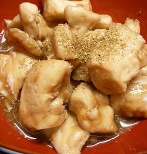 鶏ささみの照り焼き☆レンジで3分半!☆行楽弁当