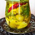 ハーブ&スパイス漬け チーズ&オリーブ 我が家の常備菜 作り置きバルメニュー