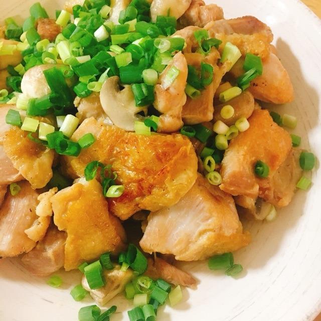 【お弁当に】鶏肉とキノコの煮物