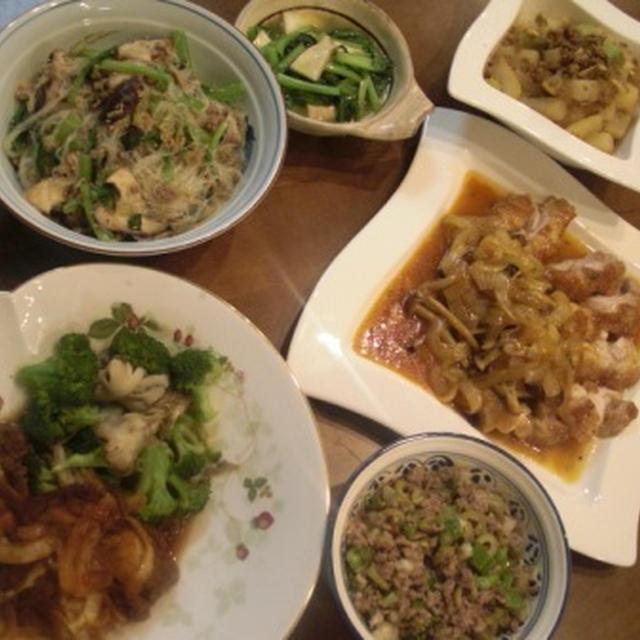 【出張料理人】★挽肉を使った料理を重点的に7品★