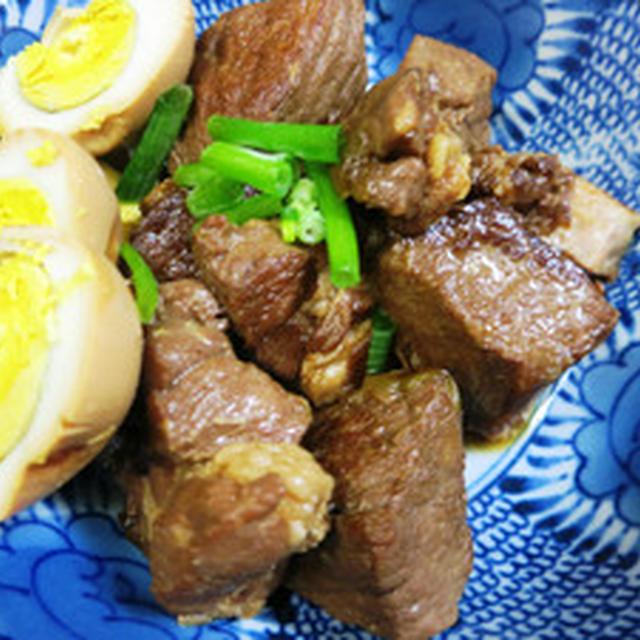 豚の角煮(圧力鍋)と煮卵