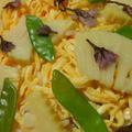 筍と絹さやのちらし寿司