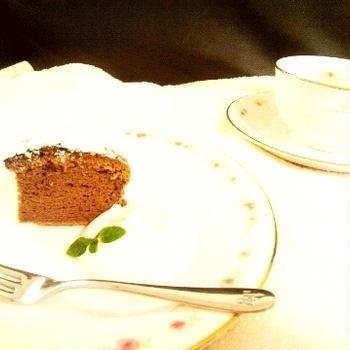 グランマルリエチョコレートケーキ