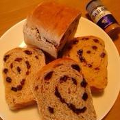 シナモンレーズンのミニ食パン