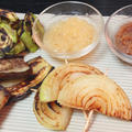 野菜のステーキと、梨でつくる和風のフルーツソースのレシピ