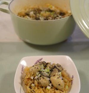 いつもの牡蠣ご飯に飽きたら、、、韓国風牡蠣ご飯◎