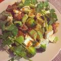 豚と緑色野菜炒め