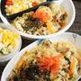■簡単5分昼麺【マルちゃんの塩焼きそば 作ってみました^^/ポテトサラダ】
