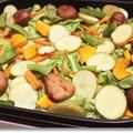 ホットプレートで、豚肉とじゃがいも、春野菜のごちそう蒸し焼き♪ by Junko さん