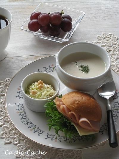 ひよこ豆のポタージュでワンプレート & 高野豆腐のボロネーゼ・・・掲載、感謝♪