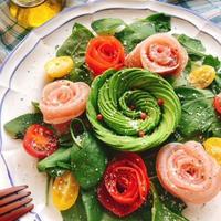 【レシピ動画】母の日やお祝いの日に!ローズサラダ