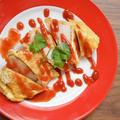 サラダチキンで 簡単晩ご飯♪「かんたんピカタ」