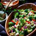猛暑対策★ジェノベーゼ早炊き玄米ブロッコリーサラダ