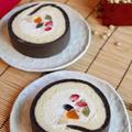 恵方巻きフルーツロールケーキ