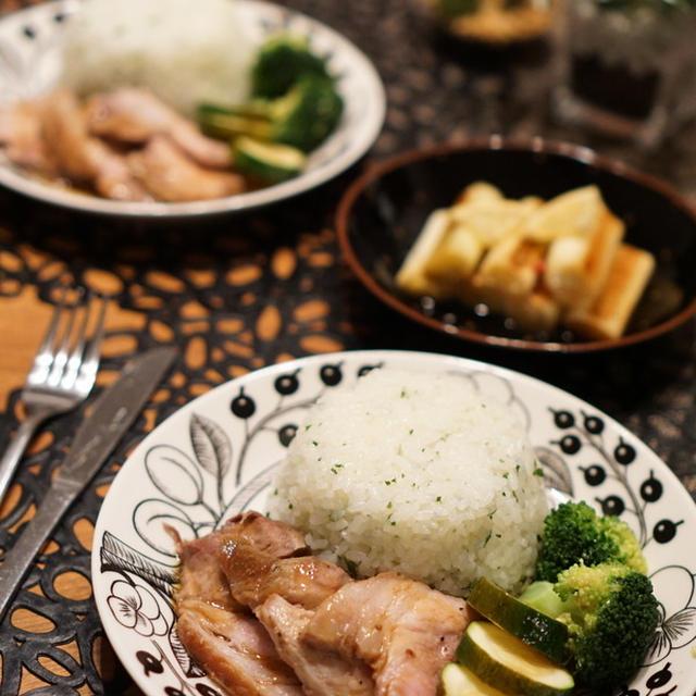 2日分の晩ご飯☆焼き葱のマリネ