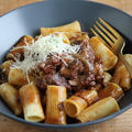 【レシピ】牛肉ゴロゴロ煮込みのパスタソース