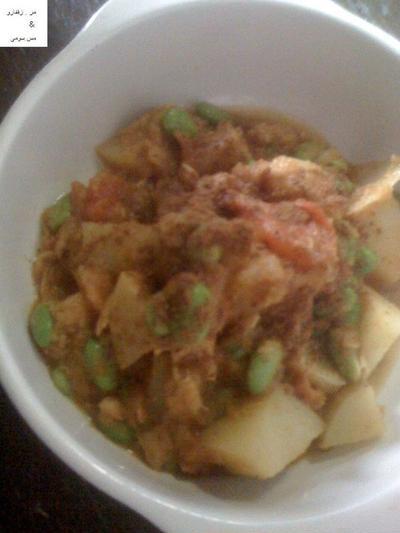 パキスタン枝豆curry