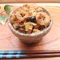 箸が止まらない♪椎茸とキャベツとちくわのおから炒め(腸活、ダイエット)