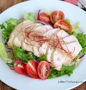 【作りおきレシピ】鶏むね肉のしっとり醤油煮