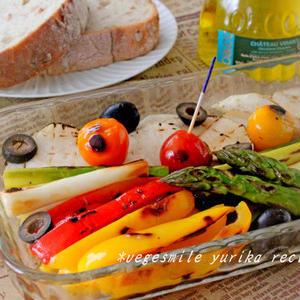 野菜だけなのに味わい深い!「アンチョビ入りマリネ」レシピ