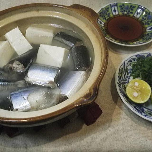 秋刀魚の酒鍋・料理レシピ