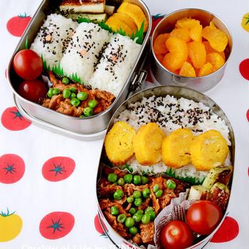 【今日のおべんと】豚肉のケチャップ炒め弁当/入院前の冷蔵庫&冷凍庫処理