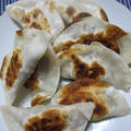 「高菜納豆の包み焼き」