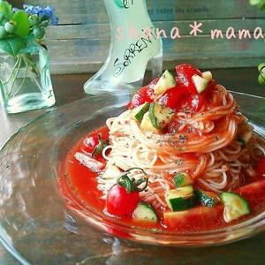 身近な材料でこんなに美味しい!ツナ&トマトの合わせ技