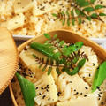 ■朝ご飯【竹の子の炊き込みご飯】創味つゆでお味シミシミ♪
