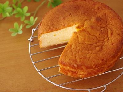 はちみつヨーグルトの簡単ケーキ