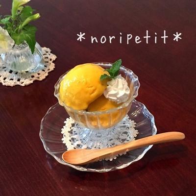 卵・生クリ無♡お豆腐かぼちゃアイス♡と簡単ヘルシー冷たいスイーツ♪