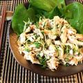 柔らか上級。ヨーグルトキムチのポン生姜ささ身サラダ(糖質4.1g) by ねこやましゅんさん